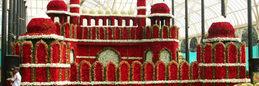 Red Fort - Floral Replica