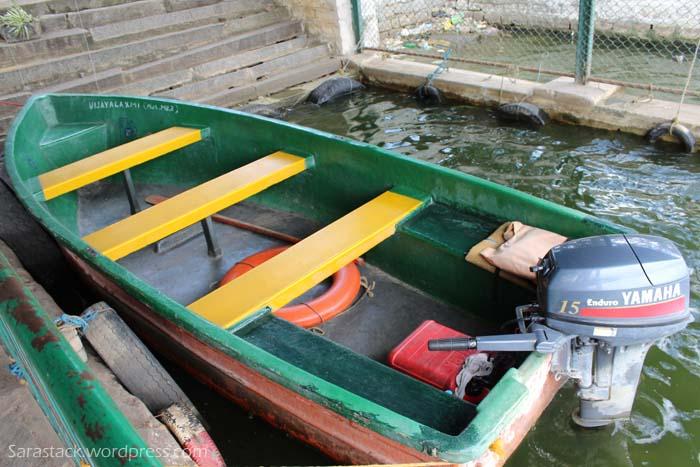 Parked Motor Boat