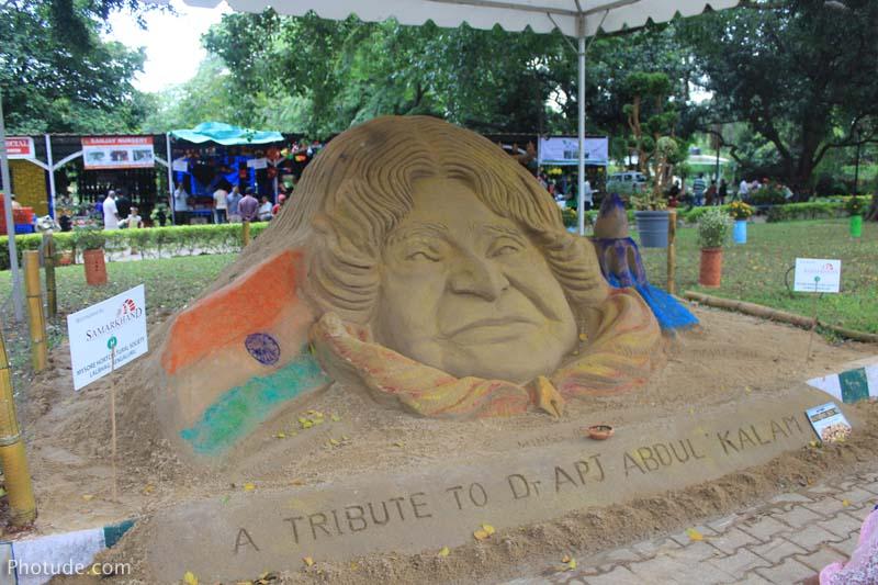 Sand Art Abdul Kalam