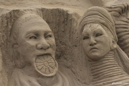 Tribal Life - Sand Art