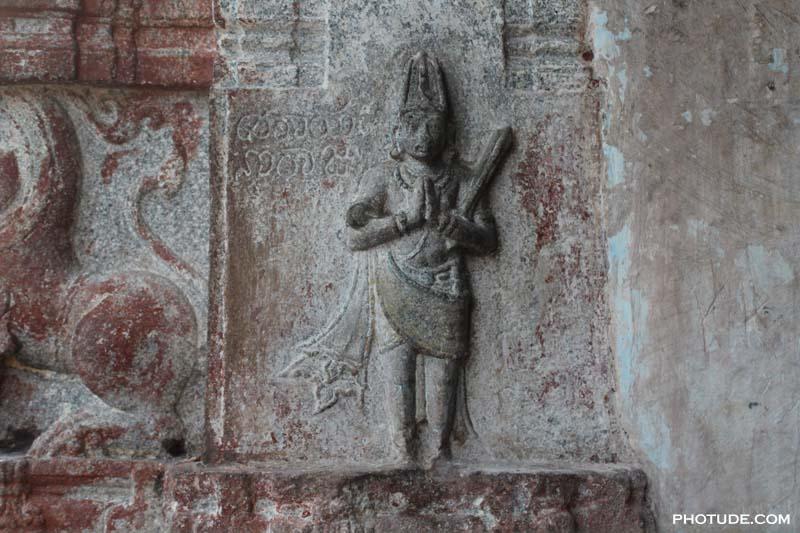 The th century virupaksha temple photude