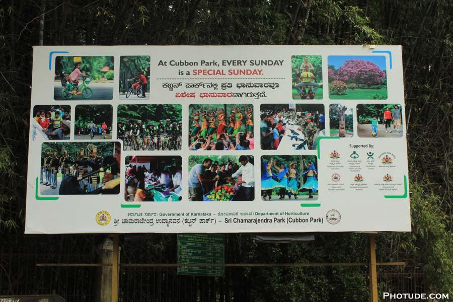 Cubbon Park Special Sunday
