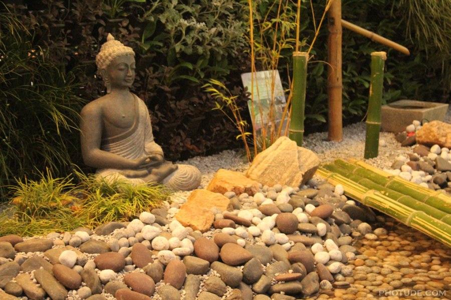 Japanese Garden Buddha Statue