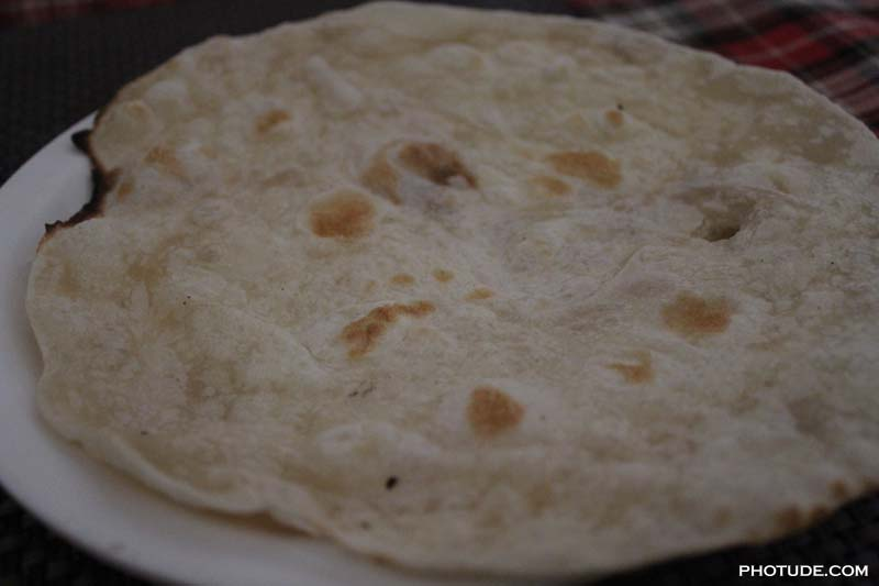 Roti at Athidhi Hospet