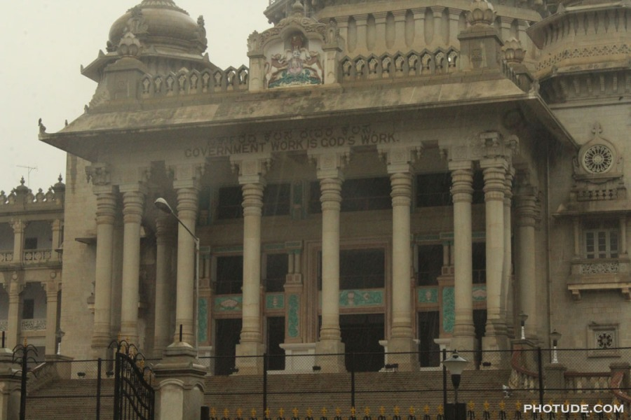 Vidhana Soudha Close up
