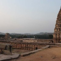 The 7th century Virupaksha Temple