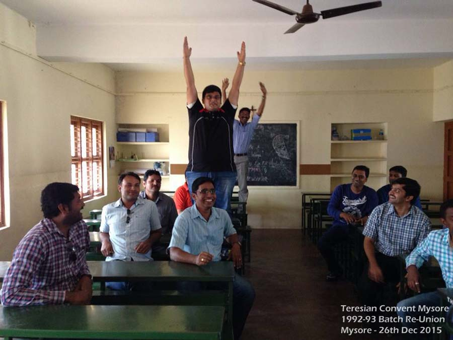 Students Handsup