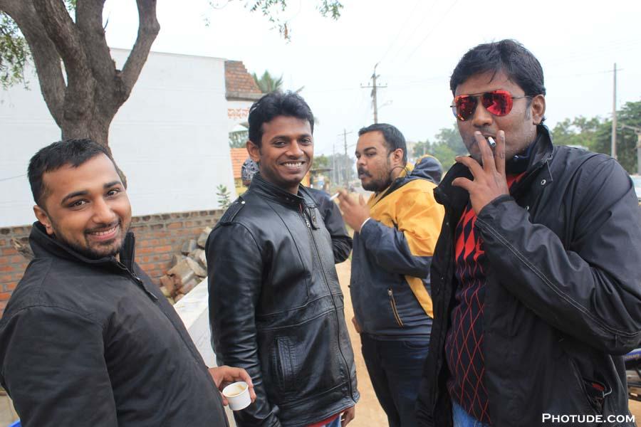 Vicky, Manju, Pavan & Pradeep