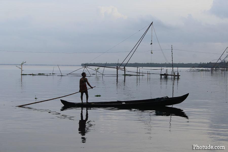 Fisherman, Alleppey