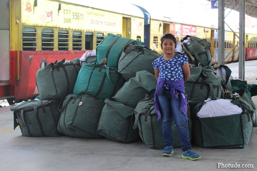 baggage Mysore Railway