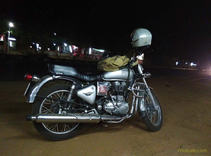 Bangalore to Mysore in Bullet 350